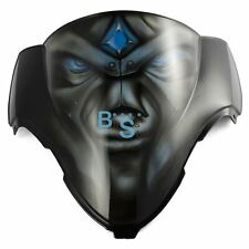 Airbrushed Blue Eyes Windscreen Windshield For Yamaha Fairing motorcycle