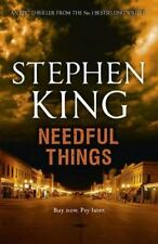 Needful Things by Stephen King (1991, Hardcover) the last castle rock story