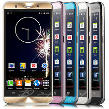 "5.0"" Android Smartphone T-Mobile Net10 2SIM Quad Core 3G GSM Cell Phone Unlocked"