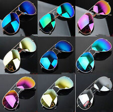Unisex Women Men Vintage Retro Fashion Mirror Lens Sunglasses Glasses #8