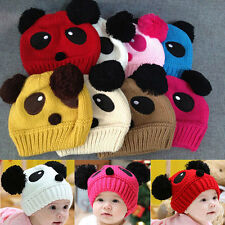 Nice Winter Baby Toddler Girl Boy Kids Panda Cap Warm Soft Beanie Hat