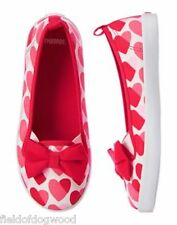 NWT Gymboree Fun at Heart Hearts Sneakers girls shoes 9,11 Valentine