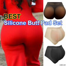Butt and Hip Enhancer BOOTY PADDED Pads Panties Silicone Pads Butt Shaper Tummy