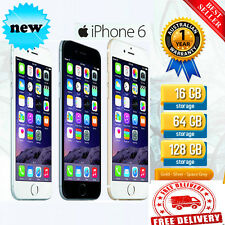 APPLE IPHONE 6 /IPHONE 4S FACTORY UNLOCKED 16GB 64GB 128GB GRAY GOLD SILVER PP22