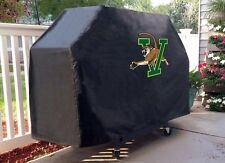 Vermont Grill Cover with Catamounts Logo on Black Vinyl