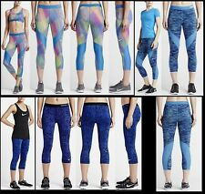NWT Womens XS S XL Nike Pro HyperCool Graphic Training Capris Tights Workout