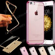 Elegant Ultra Thin TPU Gel Shockproof Clear Back Case For iPhone 6s, 6 Plus, 6