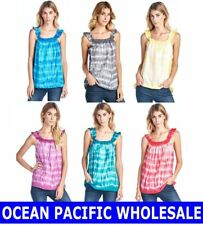 OCEAN PACIFIC WHOLESALE WOMENS CLOTHING TOP T-SHIRT TEE ASSORTED LOT MIXED SIZES