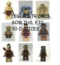 LEGO Orcs, Goblins, Wargs, Minifigs 30 Choices - Lord of the Rings + The Hobbit