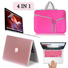 Sleeve Bag+Hard Case+Keyboard Screen Cover LCD Macbook Air/Pro/Retina 11/13/15""