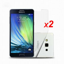 2X Front Protective Screen Protector Films Foil Cover for Samsung Galaxy PhoneS