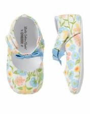NWT Gymboree Little Golden Books Floral Crib Shoes Infant Baby Girl 1,2,4