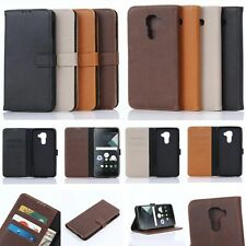 Wallet Leather Card Holder Flip Folio Magnet Case Cover For BLACKBERRY Phone NEW