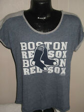 MLB Boston Red Sox Baseball Team Logo T Shirt Womens Sizes Nwt Majestic Soft Tee