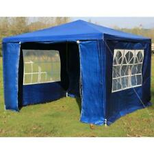 3x3m Gazebo Outdoor Marquee Tent Canopy in Blue, Green, White