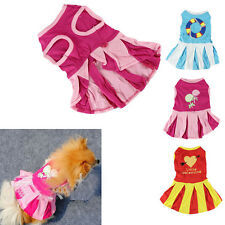 Medium Small Dog Dress Pet Summer Spring Clothes Puppy apparel Costume Dress