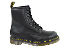 NEW DR MARTENS 1460 BLACK NAPPA MENS LEATHER BOOTS