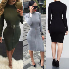 Hot Women Fashion Mini Party Cocktail Evening Sexy Slim Bodycon ClubWear Dress