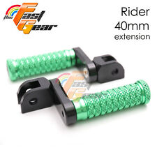 MCR CNC 40MM Adjustable Front Foot Pegs For Yamaha TZR 250 87 88 89 90