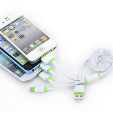 4 in 1 Multi USB Charger Charging Cable Cord For Iphone / Android / Power bank