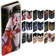 For Samsung Galaxy S6 S7 edge+ S5 - Harry Potter Print Flip Wallet Phone Case
