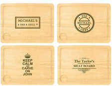 Personalised Engraved Chopping Board Chef Baker Cook Gift Idea Worktop Saver Her