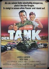Tank German movie poster James Garner, Shirley Jones, C. Thomas Howell, Herrier