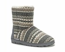 NEW MUK LUKS  Women's Short Lug Boot shoe in Neutral size Small (5-6)