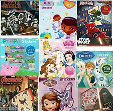Peppa Frozen Spiderman Star Wars Gift Wrap Scrapbook Kids Character Stickers