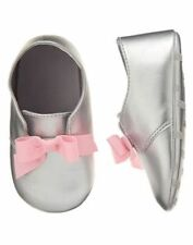NWT Gymboree Hoot & Hop Bow Crib Shoes Dress Baby Girl Infant 2,3,4
