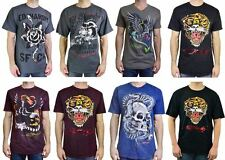 ED HARDY AUTHENTIC GRAPHIC T-SHIRT ASSORTED STYLES MIXED SIZES WHOLESALE LOT