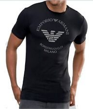 Emporio Armani Mens Black T shirt Muscle fit size M*L*XL NWT