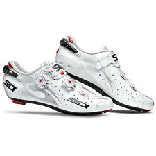 Sidi Wire Carbon Paint Road Shoes, White/white