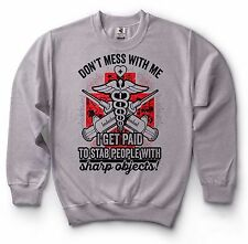 Nurse Paramedic Doctor Sweatshirt Funny Medical School Graduation Sweater
