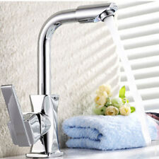 360°Rotating Faucet Basin Kitchen Bathroom Wash Basin Water Tap Chrome Plated