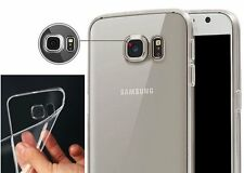 Slim Soft  Clear TPU Case Back Cover Skin For Samsung Galaxy S6 edge Plus Note 5