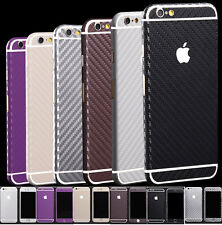 Carbon Fibre Body Skin cover case Protector Wrap Sticker Decal For iPhone 6 Plus