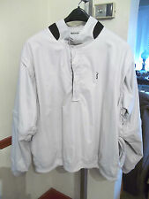 PGA GOLF Mens 3-Way Zip Pullover Rain Jacket with ZIP OFF SLEEVES Size XXL Beige