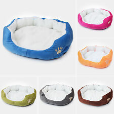 Super Casual Warm Soft Kitten Puppy Pets Dog Cat Plush Nest Mat Bed House Basket
