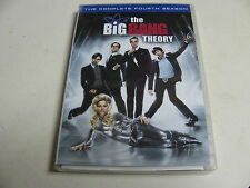 The Big Bang Theory: The Complete Fourth Season DVD, 2011, 3-Disc Set
