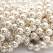 4-20 mm Round Imitation Pearl Spacer Loose Beads DIY Jewelry Making Kit Flowery
