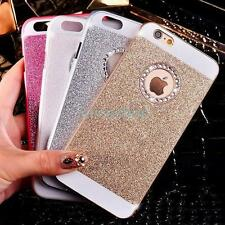 For iPhone 7 7 Plus 6 6S Plus Luxury Bling Shine Glitter Crystal Back Case Cover