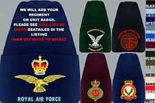 UNITS I TO N UK & FOREIGN ARMY ROYAL AIR FORCE NAVY REGIMENT BEANIE WOOLLY HAT