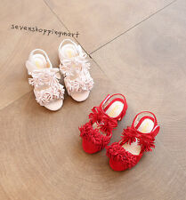 NEW Summer Baby Sandals Shoes Infant Leather Tassel Sandals Shoes Size 8.5-11.5