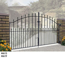 Driveway Gates Metal Steel Manor Deisgn 7ft, 8ft, 9ft, 10ft, 11ft, 12ft, Opening