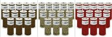 """Expo Pack of 12 Leopard Print 6"""" Tulle Spool of 10 Yards"""