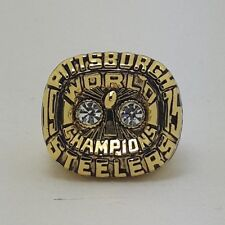 New 1975 Pittsburgh Steelers Championship ring New Year Gift