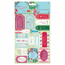 Papermania 'At Christmas by Lucy Cromwell' A5 Die-Cut Sentiments (2 Pack)