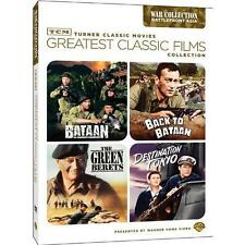 TCM Greatest Classic Films Collection: War - Battlefront Asia Bataan / Back to