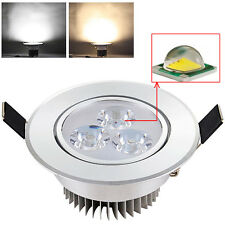 Dimmable 3W CREE LED Recessed Ceiling Bulb Spotlight Cabinet Down Lamp + Driver